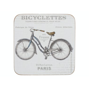 Creative Tops Bicycle Pack Of 6 Premium Coasters