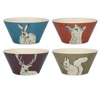 Creative Tops Into The Wild Bamboo Fibre Set Of 4 Small Bowls