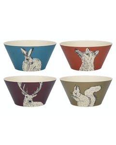 Photo of Creative Tops Into The Wild Bamboo Fibre Set Of 4 Small Bowls