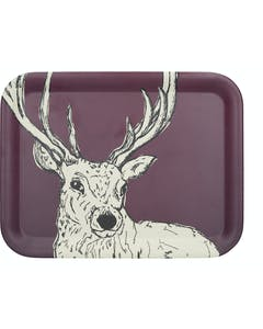 Photo of Creative Tops Into The Wild Bamboo Fibre Stag Large Tray