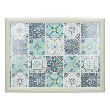Creative Tops Green Tile Laptray