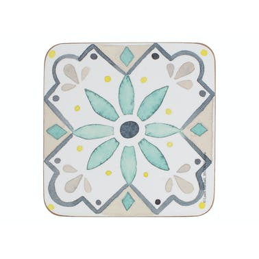 Creative Tops Green Tile Pack Of 6 Coasters