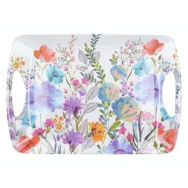 Creative Tops Meadow Floral Large Luxury Handled Tray