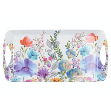 Creative Tops Meadow Floral Small Luxury Handled Tray