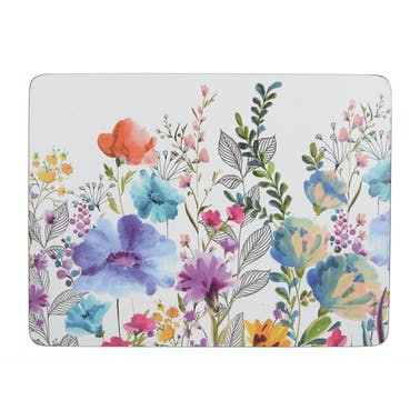 Creative Tops Meadow Floral Pack Of 6 Placemats