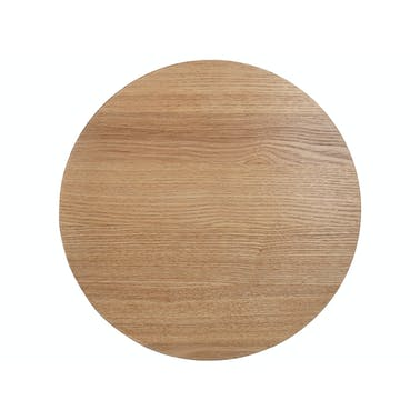 Creative Tops Naturals Wood Veneer Pack Of 4 Round Placemats