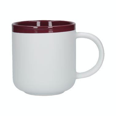 La Cafetiere Barcelona Plum 450ml Latte Mug
