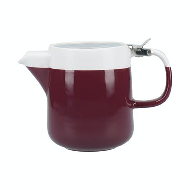 La Cafetiere Barcelona Plum Two Cup 420ml Teapot