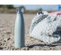 Built 500ml Double Walled Stainless Steel Water Bottle Storm Grey
