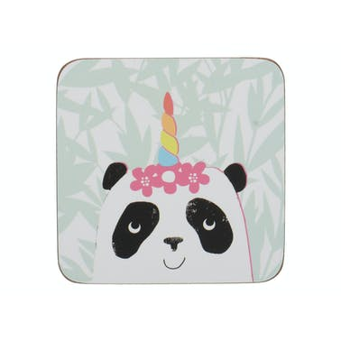 Creative Tops OTT Pandicorn Pack Of 4 Coasters