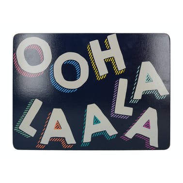 Creative Tops OTT Ooh La La Pack Of 4 Placemats