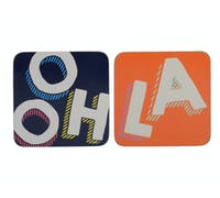 Creative Tops OTT Ooh La La Pack Of 4 Coasters