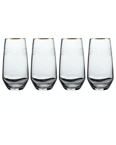 Photo of Victoria And Albert The Cole Collection Set Of 4 Highball Glasses