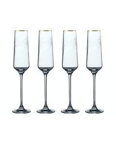 Photo of Victoria And Albert The Cole Collection Set Of 4 Flute Glasses