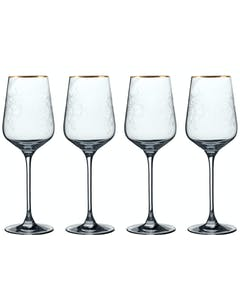 Photo of Victoria And Albert The Cole Collection Set Of 4 White Wine Glasses