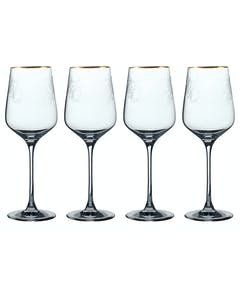 Photo of Victoria And Albert The Cole Collection Set Of 4 Red Wine Glasses