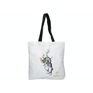 Victoria And Albert Alice In Wonderland White Rabbit Shopper Bag