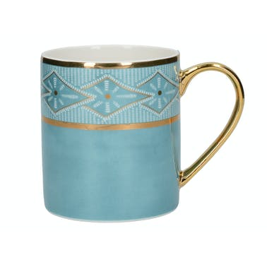 Victoria And Albert Dagoty Pierre Blue Can Mug