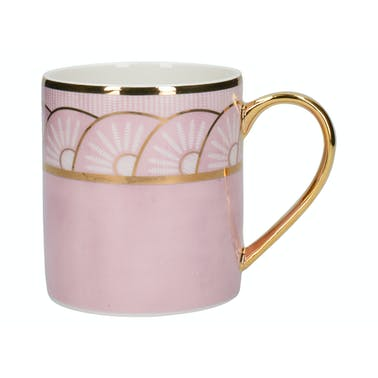 Victoria And Albert Dagoty Empress Pink Can Mug
