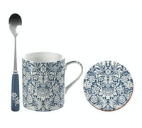 Victoria And Albert Sunflower Can Mug, Spoon And Coaster Set