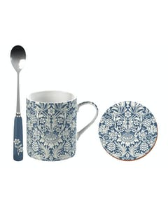 Photo of Victoria And Albert Sunflower Can Mug, Spoon And Coaster Set