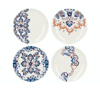 Victoria And Albert Rococo Silk Set Of 4 Side Plates