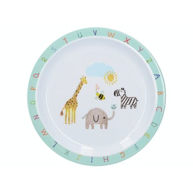 Creative Tops Alphabet Kids Plate In A CDU