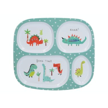 Creative Tops Hungrysaurus Sectioned Kids Plate