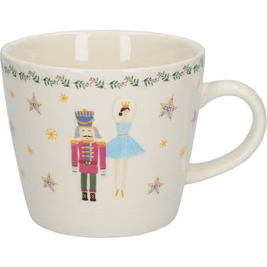 KitchenCraft The Nutcracker Collection Sugar Plum Fairy Conical Mug