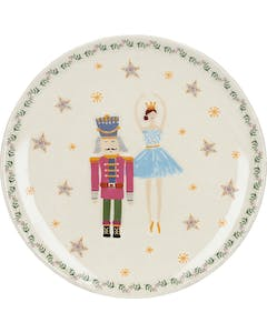 Photo of KitchenCraft The Nutcracker Collection Sugar Plum Fairy Canape Plate