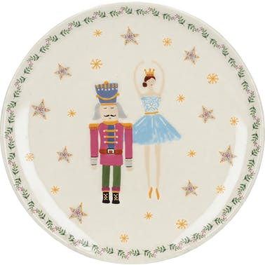 KitchenCraft The Nutcracker Collection Sugar Plum Fairy Canape Plate