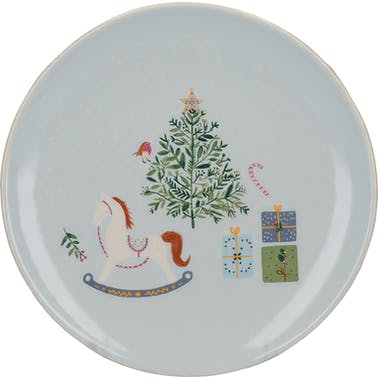 KitchenCraft The Nutcracker Collection Tree Canape Plate