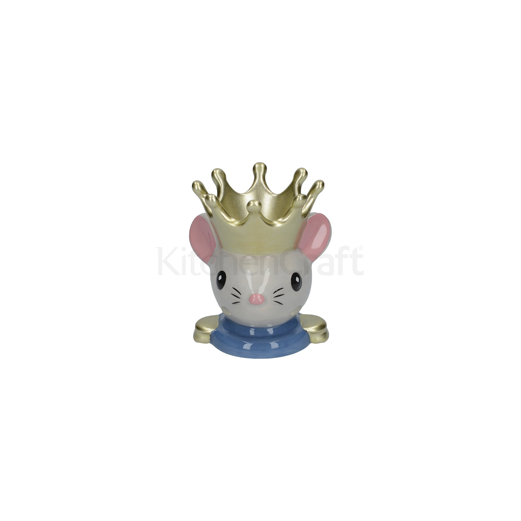 KitchenCraft The Nutcracker Collection Mouse King Egg Cup | Egg Cups