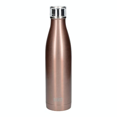 Built 740ml Double Walled Stainless Steel Water Bottle Rose Gold