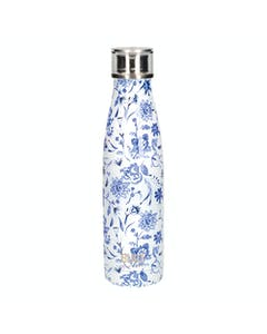 Photo of Built 500ml Double Walled Stainless Steel Water Bottle Blue Floral