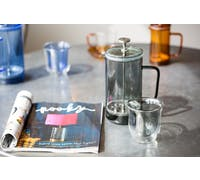La Cafetière Colour Smoke Grey Double Walled Glasses