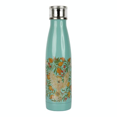 Built V&A 500ml Double Walled Stainless Steel Water Bottle Cockatoo
