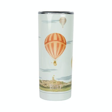 Built V&A 590ml Double Walled Stainless Steel Travel Mug Hot Air Balloon