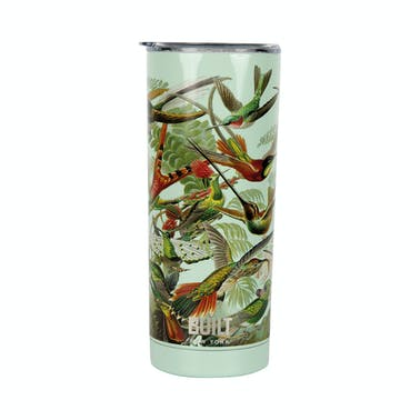 Built V&A 590ml Double Walled Stainless Steel Travel Mug Hummingbird