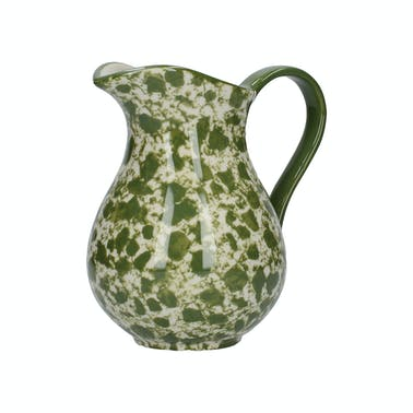 London Pottery Splash Medium Jug Green