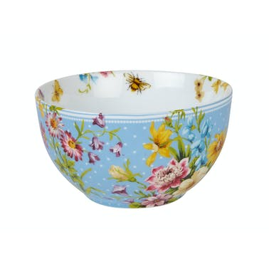 Katie Alice English Garden Blue Spot Cereal Bowl