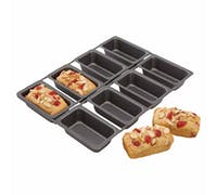 Chicago Metallic Non-Stick Eight Hole Mini Loaf Pan