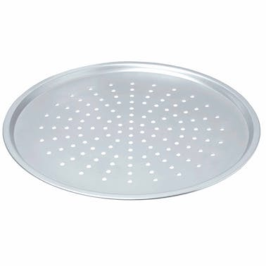 Chicago Metallic Uncoated Perforated Pizza Crisper