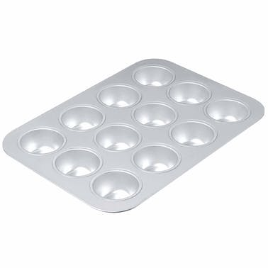 Chicago Metallic Uncoated 12 Hole Muffin Pan