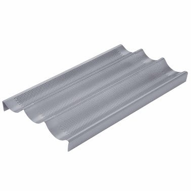 Chicago Metallic Non-Stick Perforated Baguette Pan