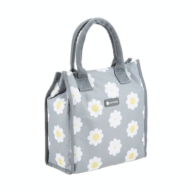 KitchenCraft 4 Litre Retro Flower Dot  Lunch / Snack Cool Bag