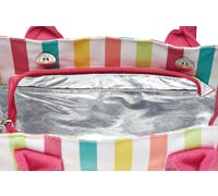 KitchenCraft 4 Litre Multi Stripes Lunch / Snack Cool Bag