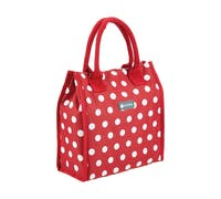 KitchenCraft 4 Litre Red Polka Lunch / Snack Cool Bag