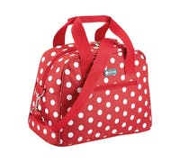 KitchenCraft 11.5 Litre Red Polka Holdall Style Cool Bag