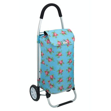 KitchenCraft Floral Foldable Shopping Trolley